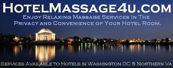 Washington DC Northern VA Arlington Hotel Massage Corporate Chair